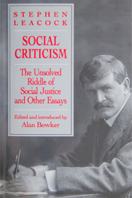 Social Criticism - The Unsolved Riddle of Social Justice and Other Essays